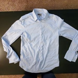1MX Express Mens Dress Shirt Fitted